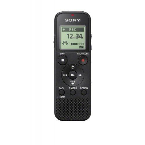 Дигитален диктофон Sony ICD-PX370, 4GB, USB, Black (снимка 1)