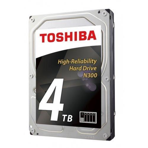 Твърд диск Toshiba 4TB, N300 NAS HDWQ140UZSVA, SATA3, 128MB, 7200rpm (снимка 1)