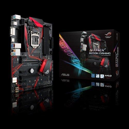 Дънна платка Asus ROG Strix B250H Gaming, LGA1151 (снимка 1)