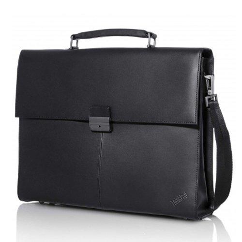 """Чанта за лаптоп Lenovo 4X40E77322, 14.1"""" ThinkPad Executive Leather Case (снимка 1)"""