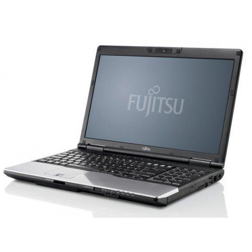 """Лаптоп Fujitsu LifeBook S782, черен, 14.0"""" (35.56см.) 1366x768 (HD) без отблясъци, Процесор Intel Core i5-3320M (2x/4x), Видео Intel HD 4000, 4GB DDR3 RAM, 500GB HDD диск, DVDRW, Windows 7 Pro 64 ОС (снимка 1)"""