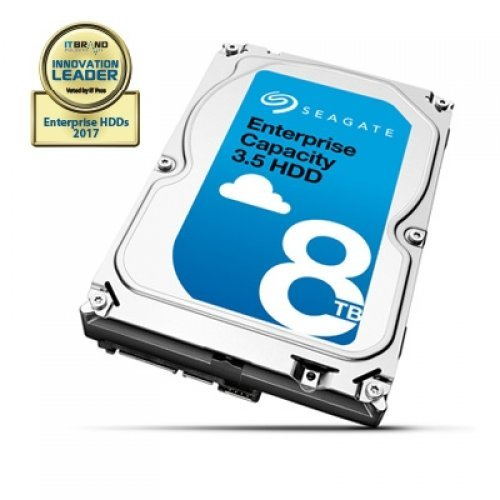 Seagate 8TB Enterprise Capacity Base Model ST8000NM0055 SATA3 256MB 7200rpm 512E (снимка 1)