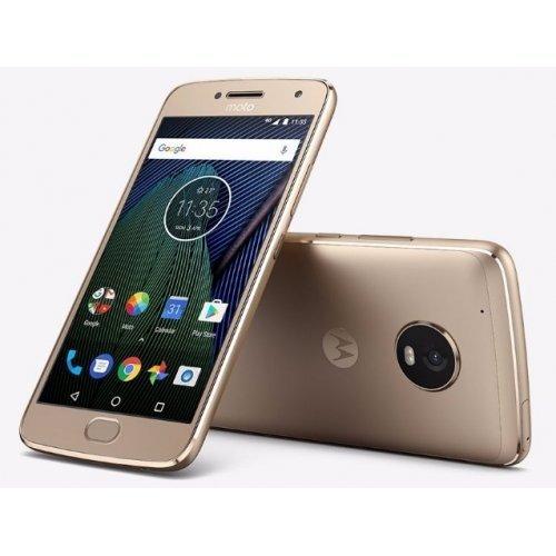 Смартфон Moto G5 Plus, Gold (снимка 1)