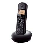 "Panasonic KX-TGB210FXB, DECT, 1.4"" Monochrome display, illuminated keyboard, Caller ID, 50 contacts address book, Black (Безжични телефони)"