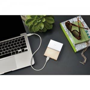 """Външен твърд диск Western Digital My Passport Ultra 2TB, 2.5"""", USB3.0, Gold (снимка 3)"""