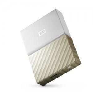 """Външен твърд диск Western Digital My Passport Ultra 2TB, 2.5"""", USB3.0, Gold (снимка 1)"""