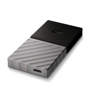 Външен твърд диск Western Digital My Passport SSD 256GB, USB3.1 Type-C, Silver (снимка 1)