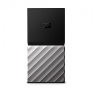 Външен твърд диск Western Digital My Passport SSD 256GB, USB3.1 Type-C, Silver (снимка 4)