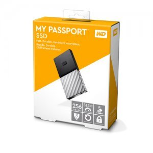 Външен твърд диск Western Digital My Passport SSD 256GB, USB3.1 Type-C, Silver (снимка 5)