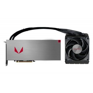 Видео карта Ati PowerColor Vega 64 8GB HBM2 Liquid Cooled, 2048 bit, PCI-E 3.0, HDMI, 3x DisplayPort, VEGA 64 8GBHBM2-3DHW (снимка 1)