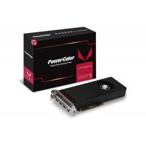 Видео карта Ati PowerColor Vega 64 8GB HBM2, 2048 bit, PCI-E 3.0, HDMI, 3x DisplayPort, VEGA 64 8GBHBM2-3DH (снимка 1)