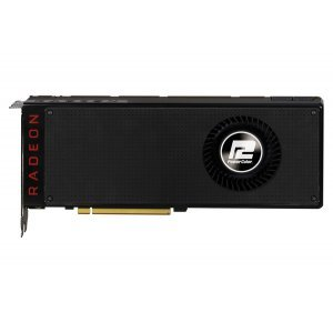 Видео карта Ati PowerColor Vega 64 8GB HBM2, 2048 bit, PCI-E 3.0, HDMI, 3x DisplayPort, VEGA 64 8GBHBM2-3DH (снимка 3)