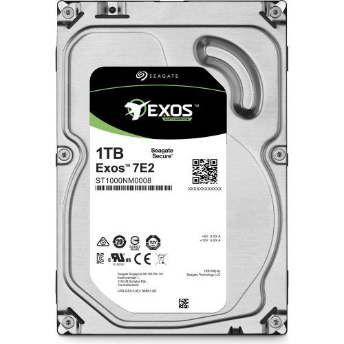 Твърд диск Seagate 1TB Enterprise Capacity ST1000NM0008 SATA3, 128MB, 7200rpm, 512n (снимка 1)