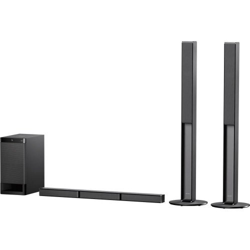 Тонколони за компютър Sony HT-RT4, 600W 5.1 Soundbar for TV with Bluetooth and NFC, Black (снимка 1)