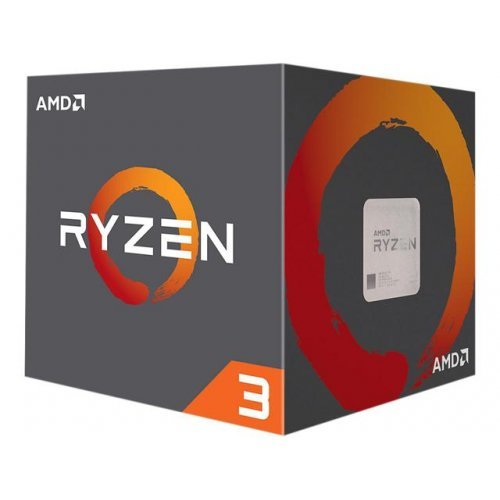 Процесор AMD Ryzen 3 1200 4C/4T, sAM4, 3.1GHz (3.4GHz with Boost) 8MB L3 Cache + 2MB L2 Cache, 65W, No VGA, Box with Wraith Stealth cooler (снимка 1)