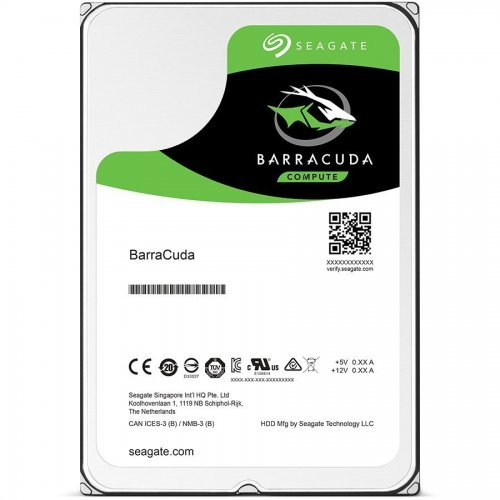 Seagate 4TB BarraCuda ST4000DM004, 2 год. гаран-я, SATA3 256MB 5400rpm (снимка 1)