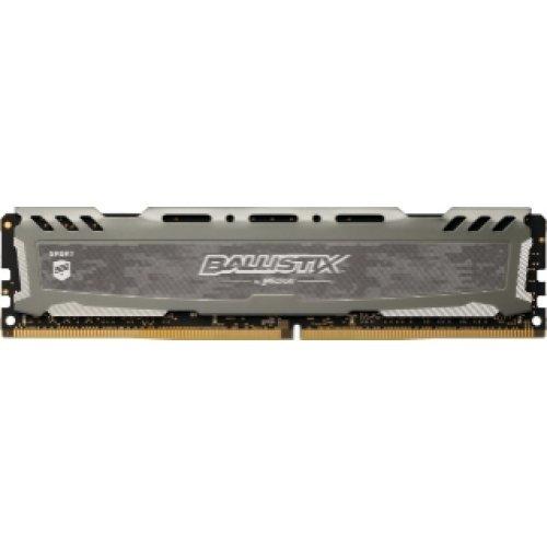 RAM памет DDR4 16GB 2666MHz CL16 Ballistix Sport LT Gray Crucial (снимка 1)