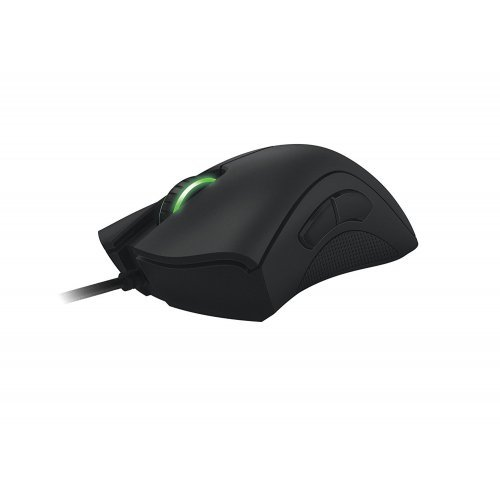 Мишка Razer Deathadder 2013 - 6400dpi 4G Optical Sensor, Razer Synapse 2.0, 1000Hz Ultrapolling/1ms response, 200 inches per second, 2.13m braided USB cable (снимка 1)