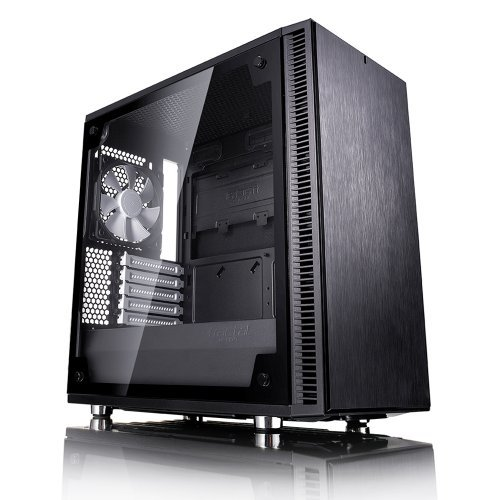 Компютърна кутия Fractal Design Define Mini C TG, Window, Black (снимка 1)