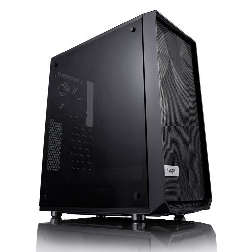 Компютърна кутия Fractal Design Meshify C, Dark Window, Black (снимка 1)