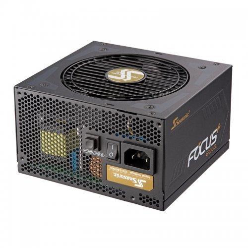 Захранващ блок Seasonic Focus Plus 750W Gold SSR-750FX, 80 Plus Gold (снимка 1)