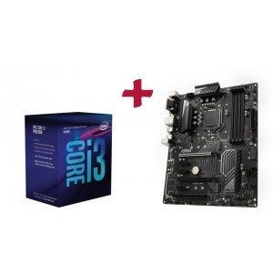 Дънна платка MSI Z370 PC Pro, Intel Z370, LGA1151 + Intel Coffee Lake Core i3-8100 LGA1151, 3.6GHz (снимка 1)