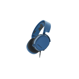 Слушалки SteelSeries Arctis 3 Blue, 7.1 Gaming Headset, 20-20000 Hz, 98 dB, 32 Ohm, 40mm drivers, 3m. cable with 3.5mm jack (снимка 1)