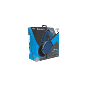 Слушалки SteelSeries Arctis 3 Blue, 7.1 Gaming Headset, 20-20000 Hz, 98 dB, 32 Ohm, 40mm drivers, 3m. cable with 3.5mm jack (снимка 4)