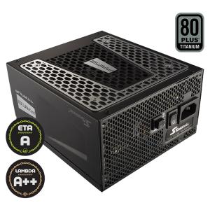 Захранващ блок Seasonic Prime 850W SSR-850TR, 80 Plus Titanium (снимка 1)