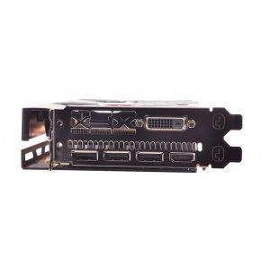 Видео карта Ati XFX RX 580 GTS Black Edition OC, 8GB GDDR5, 256 bit, PCI-E 3.0,  GPU Clock: 1405 Mhz, Memory Clock: 8.0GHz, DVI-D, HDMI, 3x DisplayPort, RX-580P8DBD6 (снимка 4)