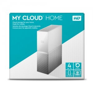 NAS устройство Western Digital My Cloud Home 4TB, WDBVXC0040HWT (снимка 3)