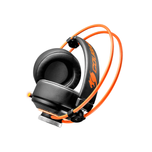 Слушалки Cougar Immersa Pro 7.1, High quality stereo sound headset, On earcup rapid control, Retractable microphone, 40mm Neodymium magnet driver, 100mm extra-large ear pads, 16.8 million RGB colors / 5 modes (снимка 15)