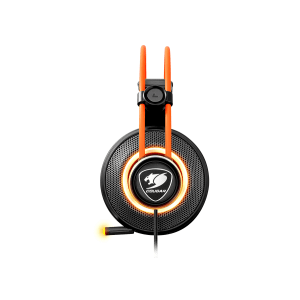 Слушалки Cougar Immersa Pro 7.1, High quality stereo sound headset, On earcup rapid control, Retractable microphone, 40mm Neodymium magnet driver, 100mm extra-large ear pads, 16.8 million RGB colors / 5 modes (снимка 14)