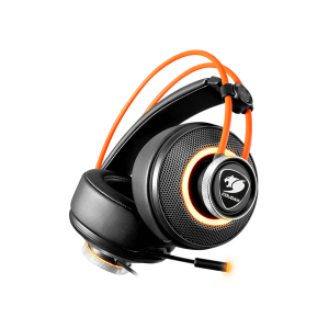 Слушалки Cougar Immersa Pro 7.1, High quality stereo sound headset, On earcup rapid control, Retractable microphone, 40mm Neodymium magnet driver, 100mm extra-large ear pads, 16.8 million RGB colors / 5 modes (снимка 12)