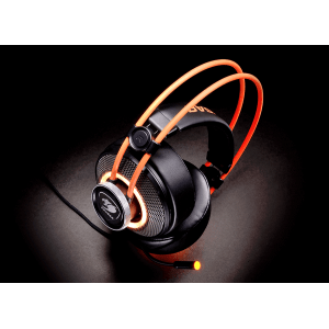 Слушалки Cougar Immersa Pro 7.1, High quality stereo sound headset, On earcup rapid control, Retractable microphone, 40mm Neodymium magnet driver, 100mm extra-large ear pads, 16.8 million RGB colors / 5 modes (снимка 10)