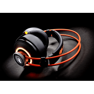 Слушалки Cougar Immersa Pro 7.1, High quality stereo sound headset, On earcup rapid control, Retractable microphone, 40mm Neodymium magnet driver, 100mm extra-large ear pads, 16.8 million RGB colors / 5 modes (снимка 8)