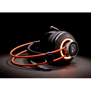 Слушалки Cougar Immersa Pro 7.1, High quality stereo sound headset, On earcup rapid control, Retractable microphone, 40mm Neodymium magnet driver, 100mm extra-large ear pads, 16.8 million RGB colors / 5 modes (снимка 7)