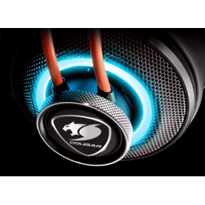Слушалки Cougar Immersa Pro 7.1, High quality stereo sound headset, On earcup rapid control, Retractable microphone, 40mm Neodymium magnet driver, 100mm extra-large ear pads, 16.8 million RGB colors / 5 modes (снимка 5)