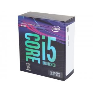 Процесор Intel Coffee Lake Core i5-8600K, LGA1151, 3.6GHz (4.3GHz with Turbo) 6x 256 KB L2 Cache, 9MB L3 Cache Shared, 14nm, 64 bit, 95W, GPU Intel UHD 630, Box (No Fan) (снимка 1)