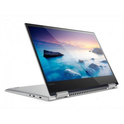 "Лаптоп-таблет Lenovo Laptop-Tablet Yoga G720-15IKB, 2 в 1, сив, 15.6"" (39.62см.) 1920x1080 (Full HD) без отблясъци IPS тъч, Процесор Intel Core i5-7300HQ (4x/4x), Видео nVidia GeForce GTX 1050/ 2GB GDDR5, 8GB DDR4 RAM, 256GB SSD диск, без опт. у-во, Windows 10 64 ОС, Клавиатура- с БДС (снимка 1)"