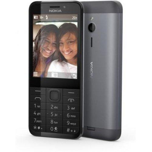 Мобилен телефон Nokia 230, Dark Silver (снимка 1)