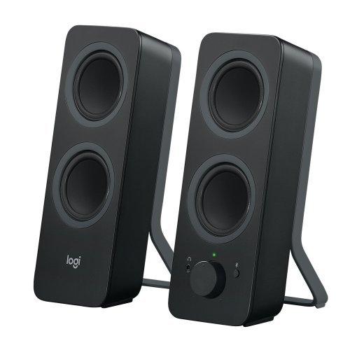 Тонколони за компютър Logitech Z207, Bluetooth, Black (снимка 1)