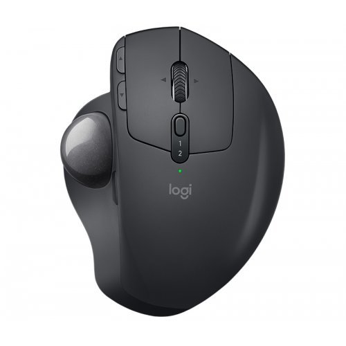 Мишка Logitech MX Ergo, Advanced 2.4GHz Wireless Trackball, Nominal value : 380 dpi, 8 buttons, Graphite (снимка 1)