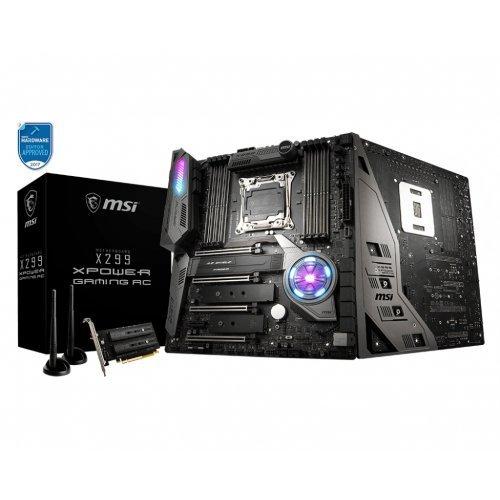 Дънна платка MSI X299 XPower Gaming AC, LGA2066 (снимка 1)