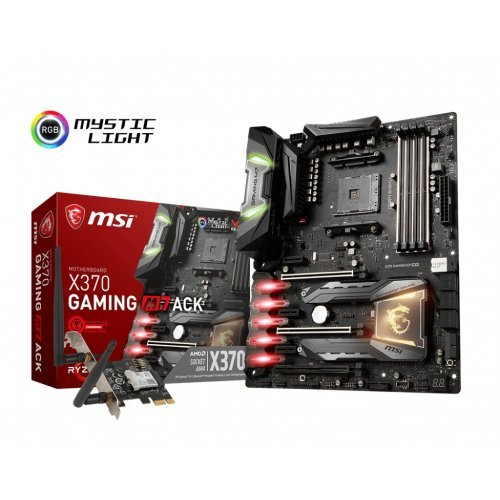 Дънна платка MSI X370 Gaming M7 ACK, s.AM4 (снимка 1)