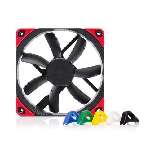 Въздушно охлаждане на процесор Noctua NF-S12A PWM chromax.black.swap, 300-1200rpm, Fan 120x120x25mm (снимка 1)