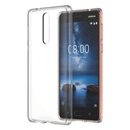 Протектор Nokia 8 Hybrid Crystal Case Cover (снимка 1)
