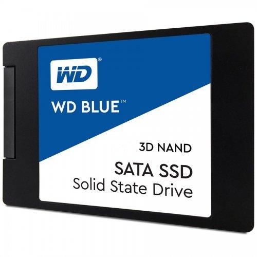 "SSD Western Digital 500GB, Blue WDS500G2B0A, SATA3, 2.5"" 7mm (снимка 1)"