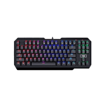 Redragon Usas K553RGB, Mechanical Gaming Keyboard, Outemu Blue switches, 87 keys, Gold plated USB cable, Black (Клавиатури)