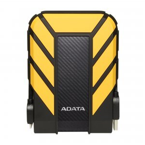 """Външен твърд диск Adata HD710P, 2TB, 2.5"""", USB3.1, Yellow (снимка 1)"""
